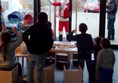 Nikolaus im Café der Kulturen